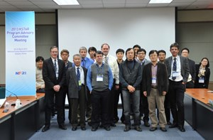 The KSTAR Program Advisory Committee (PAC) has provided critical analysis and constructive counseling for KSTAR's experimental campaign since 2009. The PAC members convened in Daejeon, Korea from 20-22 March. (Click to view larger version...)