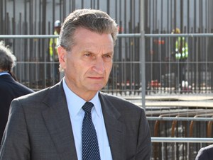 The meeting took place on 6 September at the initiative of Günther H. Oettinger, European Commissioner in charge of Energy and representative of the European Atomic Energy Community. (Click to view larger version...)