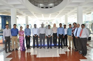 The contract award comes as a result of the diligence, cooperative attitude and flexibility of the Indian cooling water team led by Ajith Kumar and Dinesh Gupta. Pictured: staff from Larsen & Toubro, ITER India and the ITER Cooling Water System Section at the contract kick-off meeting in Chennai, India. (Click to view larger version...)