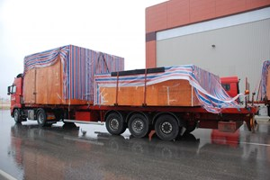 Two types of conductor were delivered this week from China for the commissioning of the Poloidal Field Coils Winding Facility. (Click to view larger version...)
