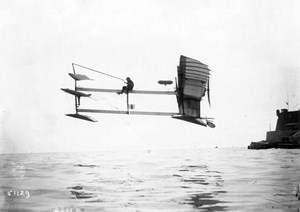 The first seaplane in history took off from the waters of Étang de Berre one hundred years ago, on 28 March 1910. (Click to view larger version...)