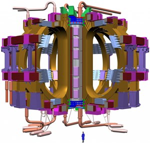 Colder than Neptune or the dark side of the Moon: the ITER magnets will be cooled to -269 °C, and become superconducting. (Click to view larger version...)