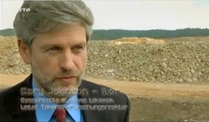 ''Le Soleil sur Terre'' opens with an interview of Deputy Director-General Gary Johnson, presently Acting Head of the Department for ITER Project. (Click to view larger version...)