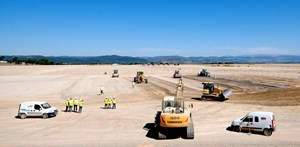 With the Baseline approved, a new Director-General appointed, and the start of construction work on the platform, late July and early August were a very busy time at ITER. (Click to view larger version...)