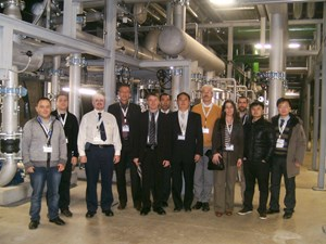 The RAMI and Standardization Board members and contributors along with their European hosts, visiting the Alba facility. (Click to view larger version...)