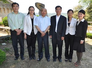 ''We learned some very useful things that we will implement in our daily practice,'' says Guoqing Dai (third from right), the Deputy Director-General of the Department of Financial Support and Facilities at MOST. (Click to view larger version...)