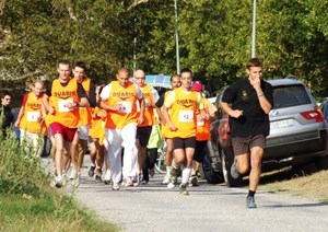 Close to 250 persons, a mix of people working on the ITER project and residents of Saint-Paul-lez-Durance or Vinon-sur-Verdon, participated in the ITER Games. (Click to view larger version...)