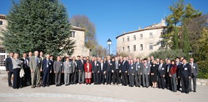 The participants to the ninth edition of the ITER Council (17-18 November 2011) in Cadarache, France.<br /><br /> (Click to view larger version...)