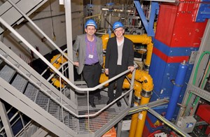 Gabriel Marbach (right) and Alain Bécoulet are among those who ''raised'' the ITER project almost from infancy. Even in the most difficult moments—and there were many—their faith never wavered. (Click to view larger version...)