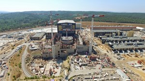 Construction of the ITER scientific installation began in 2010. At the heart of the facility, the Tokamak Complex is rising. Image: ITER Organization/EJF Riche, August 2018 (Click to view larger version...)