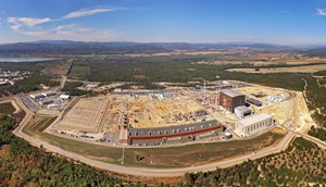 At the centre of the 180-hectare ITER parcel, is the 42-hectare scientific platform where work is currently underway to build ITER. Photo: ITER Organization/EJF Riche (Click to view larger version...)