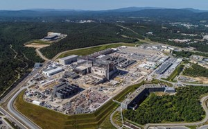 At the centre of the 180-hectare ITER parcel, is the 42-hectare scientific platform where work is currently underway to build ITER. Photo: ITER Organization/EJF Riche, May 2020 (Click to view larger version...)