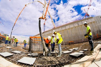 The concrete employed at ITER plays a double role—guaranteeing structural integrity as well as nuclear safety. Whether its formulation is ordinary or exceptional, the concrete is the object of control and verification at each stage of its elaboration and implementation. (Click to view larger version...)