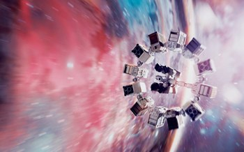 The spaceship that carries passengers on a quest for inhabitable planets in the 2014 blockbuster ''Interstellar'' is fuelled by compact tokamaks that also provide the vessel's electricity. (Click to view larger version...)