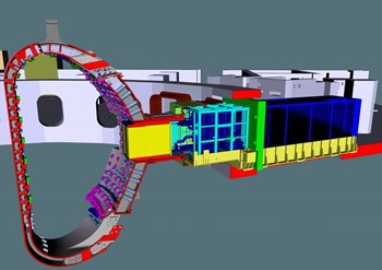 ITER will provide a unique opportunity to test experimental breeding blankets, called Test Blanket Modules, in a real fusion environment. (Click to view larger version...)