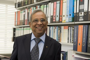 Prof. Shukla was the first German citizen to be elected into the Royal Swedish Academy of Sciences, Physics division. As a member of the academy he advised the Nobel Prize committee. (Click to view larger version...)