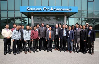 The kick-off meeting for the ITER thermal shield—''one of the most critical procurement items in the ITER Project''—took place in Korea on 12 April. (Click to view larger version...)
