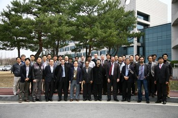 Over 30 experts attended the 52nd ITER Vacuum Vessel Integrated Product Team (IPT) and Domestic Agency collaboration meeting to discuss experience in the fabrication of the ITER vacuum vessel, ports and in-wall shielding. (Click to view larger version...)
