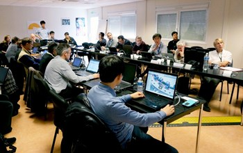 The Final Design Review for the Group A subset of assembly tools took place in December, with 35 experts in attendance. A set of 128 purpose-built tools will be required for ITER assembly. (Click to view larger version...)