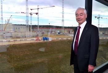 ''My experience as Director-General has shown me how difficult a project such as ITER is and how the job of the DG is a very tough one,'' says Director-General Emeritus Osamu Motojima. (Click to view larger version...)