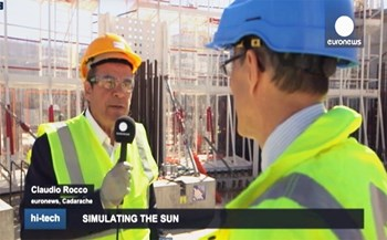 The Euronews documentary on ITER aired in 14 different languages on 29 April. (Click to view larger version...)