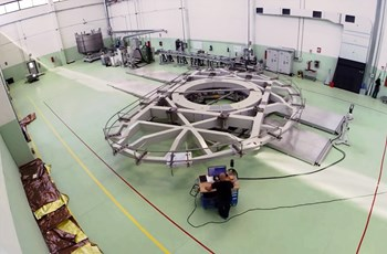 Europe is responsible for manufacturing 10 of ITER's 18 D-shaped toroidal field coils. (Click to view larger version...)