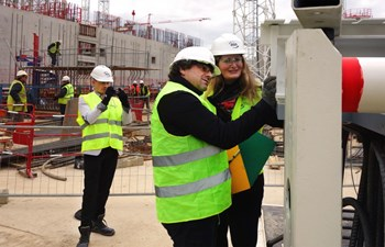 Experts from the French Nuclear Safety Authority, accompanied by technical specialists from the Institute for Radioprotection and Nuclear Safety, have carried out 15 on-site inspections since 2011 (here on 3 December 2015). On 5 January 2016, ITER Director-General Bernard Bigot and the head of the Nuclear Safety & Environmental Protection Division, Joelle Elbez-Uzan, presented an overview of the ITER installation's status to the ASN Board of Commissioners. (Click to view larger version...)