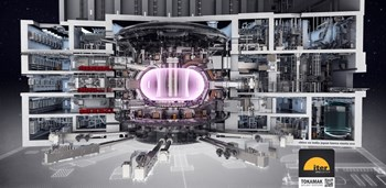 Le tokamak ITER est un dispositif unique et l'une des machines les plus complexes jamais conçues. (Click to view larger version...)