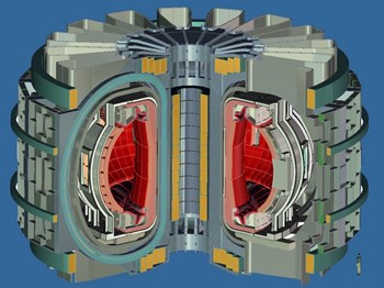The next step after ITER will be a demonstration power plant—or DEMO—that will explore continuous or near-continuous (steady-state) operation. (Click to view larger version...)