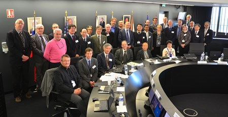 The Fusion Power Coordinating Committee met for the first time at ITER Headquarters from 24 to 25 February. (Click to view larger version...)