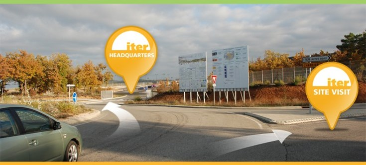 ITER Headquarters has moved! (new GPS coordinates: 43.712332° N 5.774817° E 971 ft) (Click to view larger version...)