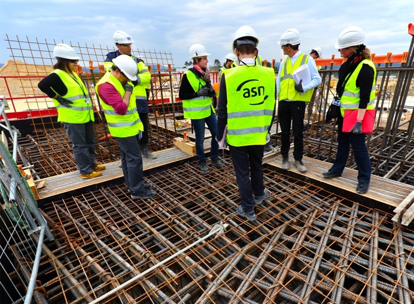 On Thursday 25 April, the French nuclear safety regulator ASN inspected the ITER construction site for the sixth time since July 2011. (Click to view larger version...)