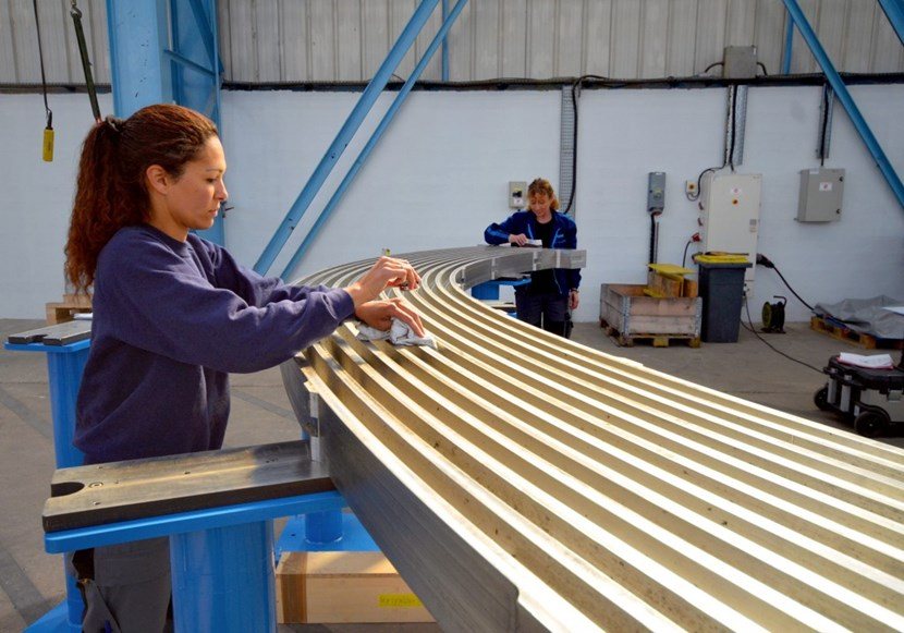 Dimensional checks are performed at every stage of the manufacturing process. (Click to view larger version...)