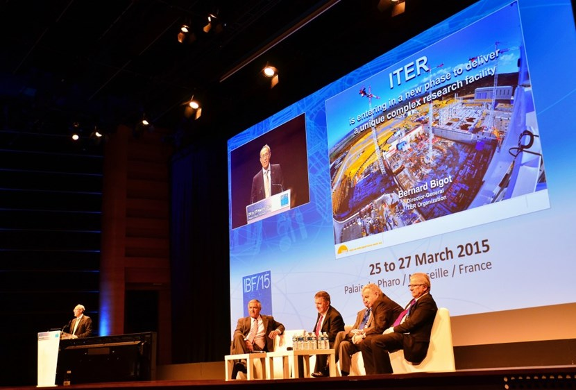 With a plenary session and 14 thematic workshops organized with the support of the ITER Organization, the ITER Domestic Agencies and their main suppliers, the 2015 edition of the ITER Business Forum provided a broad overview of the status of the project as it enters a new and crucial phase. (Click to view larger version...)