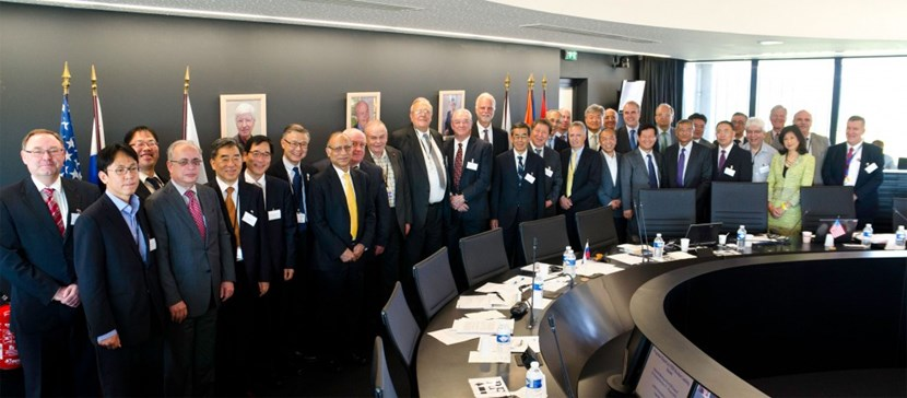 The sixteenth ITER Council commended the ''vision and actions'' of the new Director-General Bernard Bigot during his first 100 days in office. (Click to view larger version...)