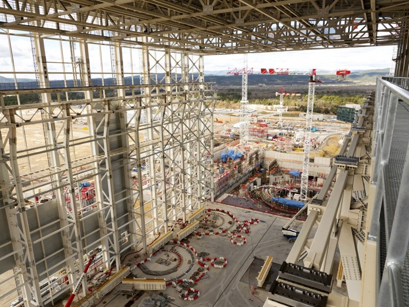 Here's the panorama that you would take in if you were sitting, facing west, on the bridge crane soon to be installed in the Assembly Hall. © Fusion For Energy (Click to view larger version...)