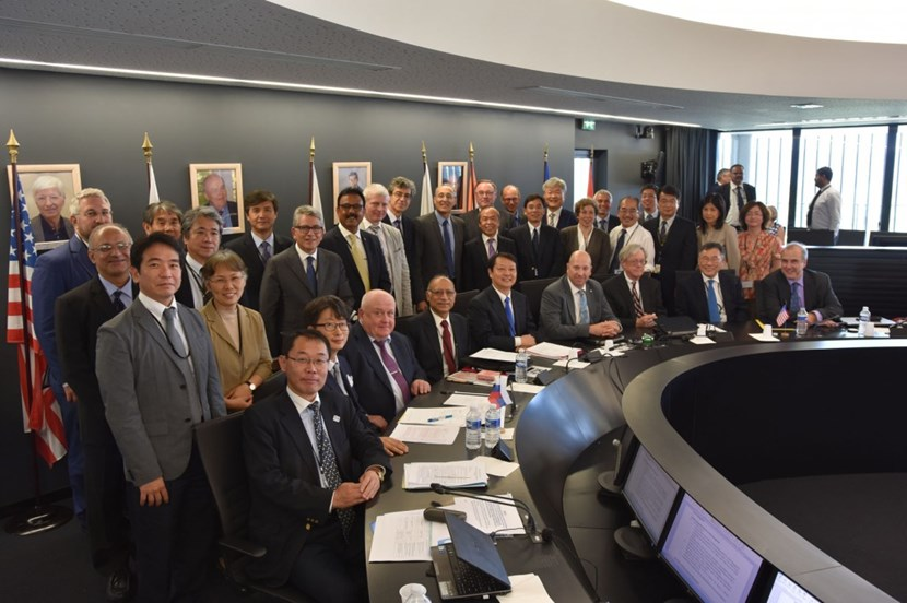 During the Council meeting on 21-22 June, representatives of China, Europe, India, Japan, Korea, Russia and the United States reaffirmed joint commitment to the project on the basis of detailed reports and indicators demonstrating that the project remains on schedule for First Plasma in 2025. (Click to view larger version...)