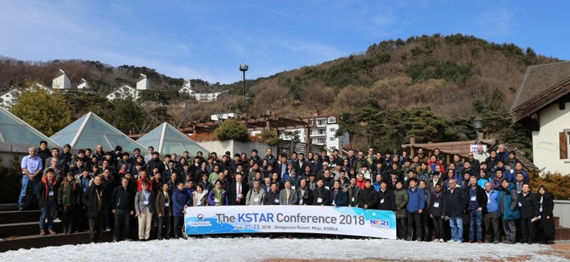Participants to the KSTAR conference—an annual international meeting for fusion science. (Click to view larger version...)