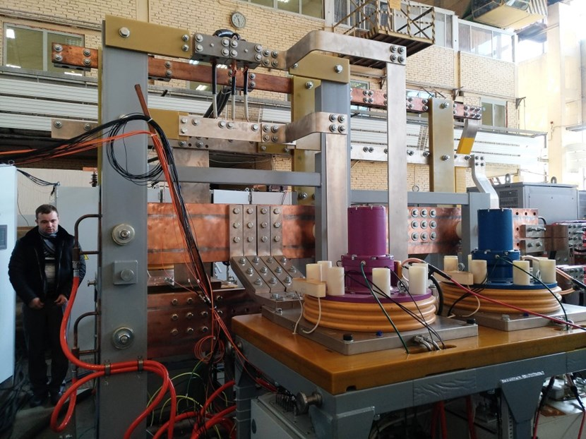 These circuit breakers performed to ITER Organization specifications during recent tests at the Efremov Institute in Saint Petersburg. (Click to view larger version...)