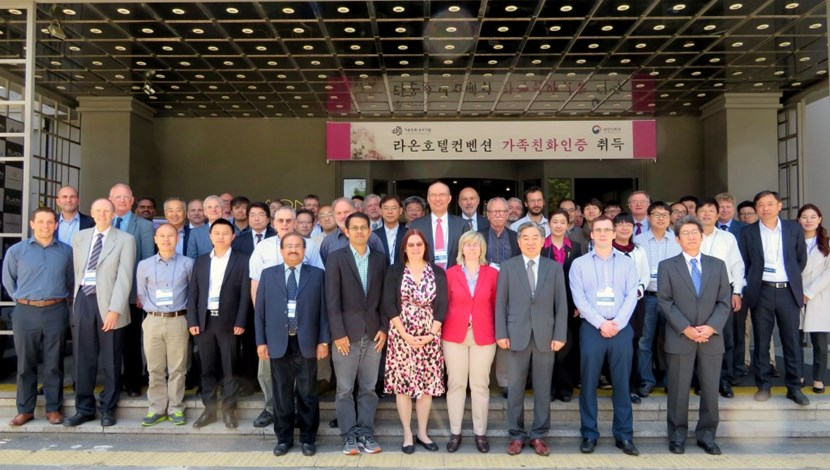 The fifth IAEA DEMO Programme Workshop (DPW-5) was hosted by the Republic of Korea through the National Fusion Research Institute. Previous workshops in the series were held in Los Angeles (2012), Vienna (2013), Hefei (2015) and Karlsruhe (2016). (Click to view larger version...)