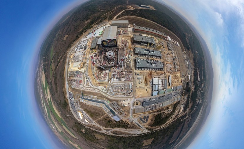 As host Member Europe contributes 45.6 percent of the total construction budget. This includes contributions to ITER systems and components, and all the buildings of the scientific installation. Photo: ITER Organization/EJF Riche (Click to view larger version...)
