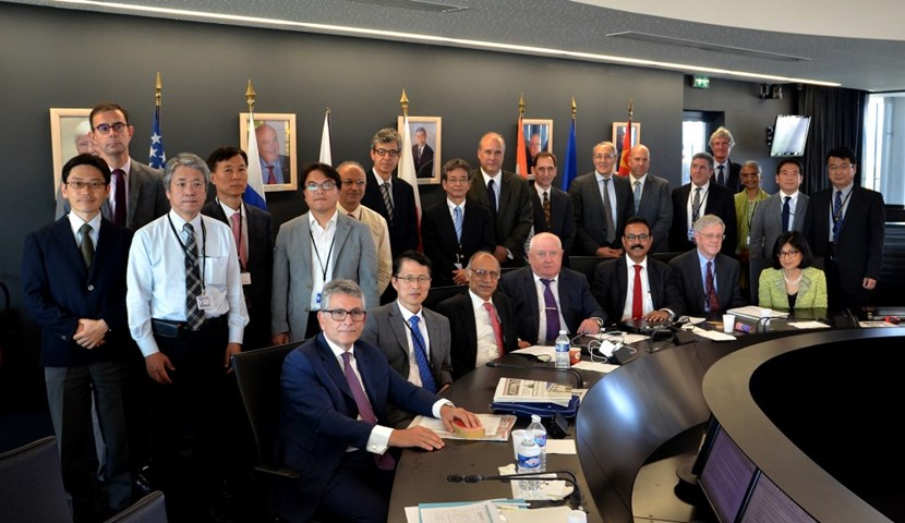 The ITER Council acknowledged the improved collaboration of the One-ITER team—the ITER Organization and seven Domestic Agencies—and confirmed that the project is on track to success. (Click to view larger version...)