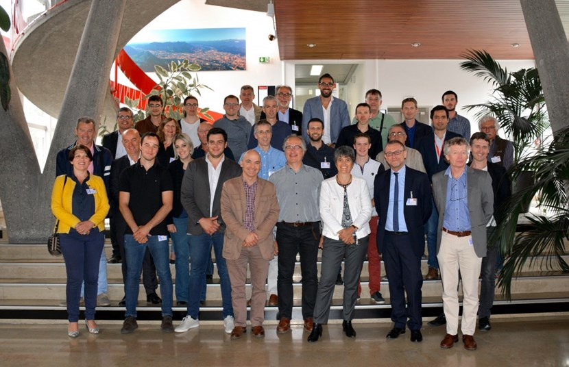 Developing and overseeing the delivery of more than 3,000 instruments for the control and protection of the ITER magnets: members of the ITER and CEA teams, plus CEA contractors. (Click to view larger version...)