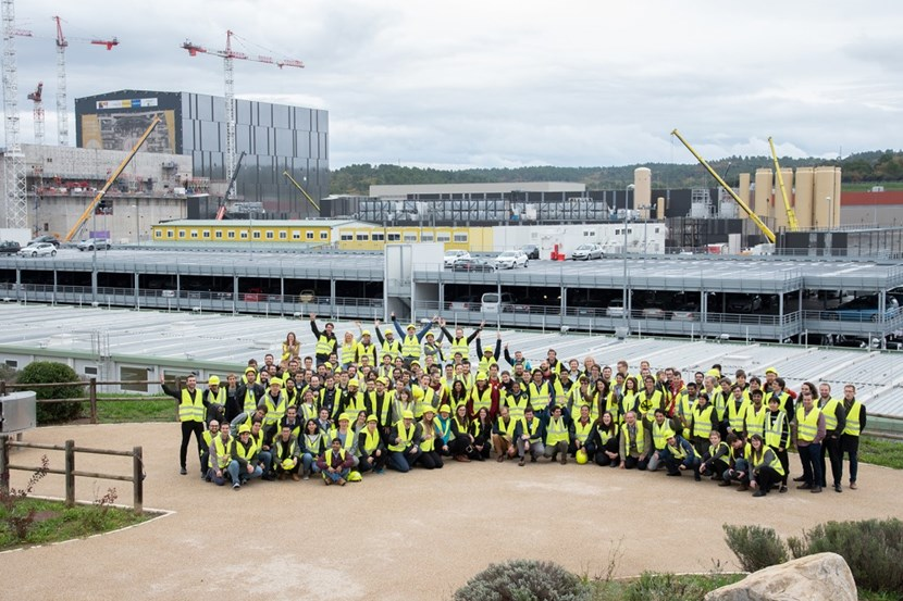 A lot is expected of these 135 young fusion experts who will spend their professional careers in developing fusion as a future source of energy. Photo: C. Roux CEA-IRFM (Click to view larger version...)