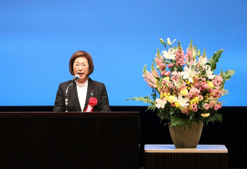 Keiko Nagaoka—Diet member and State Minister of Education, Culture, Sports, Science and Technology (MEXT)—expressed strong political support for fusion energy during her speech at the symposium organized in December 2018 by the Fusion Energy Forum of Japan. (Click to view larger version...)