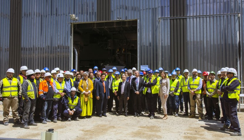 The demineralized water plant, chiller systems, air compressors, pumps and pipes must now be preserved in a state of readiness until they are needed for systems commissioning. This will be the joint responsibility of MOMENTUM and ITER's construction team for plant installation. (Click to view larger version...)