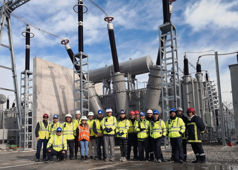 ''Energizing'' the pulsed power transformer required close collaboration between ITER specialists and their counterparts at the French power transportation authority RTE, both on site and at RTE's dispatching centre in Marseille. (Click to view larger version...)