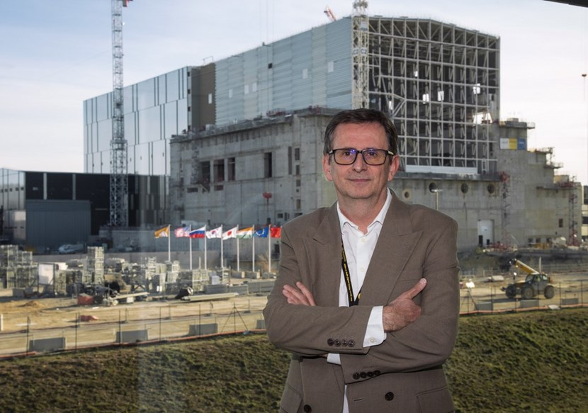 For three decades, Alain Bécoulet has contributed to ITER from ''the other side of the fence.'' The theoretician-turned-project manager and engineering expert will now serve it more directly as Head of the ITER Engineering Domain. (Click to view larger version...)