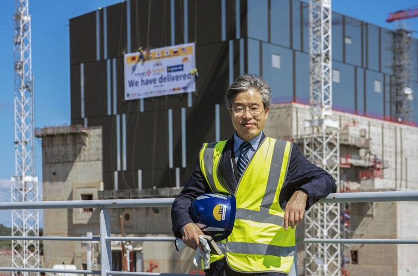 ITER's Head of the Construction Domain, Keun-Kyeong Kim, contributed to or managed the development and construction of 25 out of the 30 Korean ''nuclear units.'' Tasked with ''bringing all things together'' he knows that ITER's busiest days are still ahead. (Click to view larger version...)