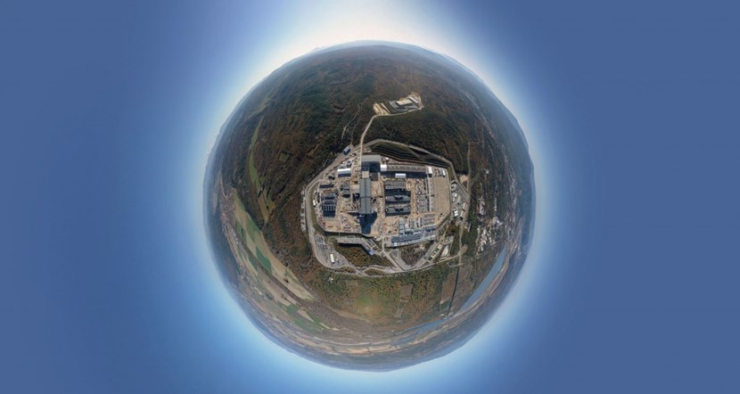 The ITER ''planet.'' Photo: ITER Organization/EJF Riche (Click to view larger version...)